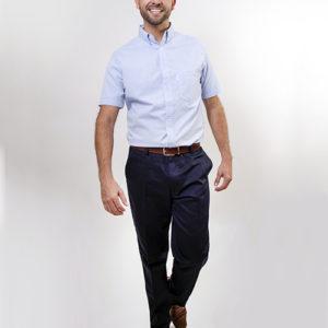 Camisa Manga Corta Oxford