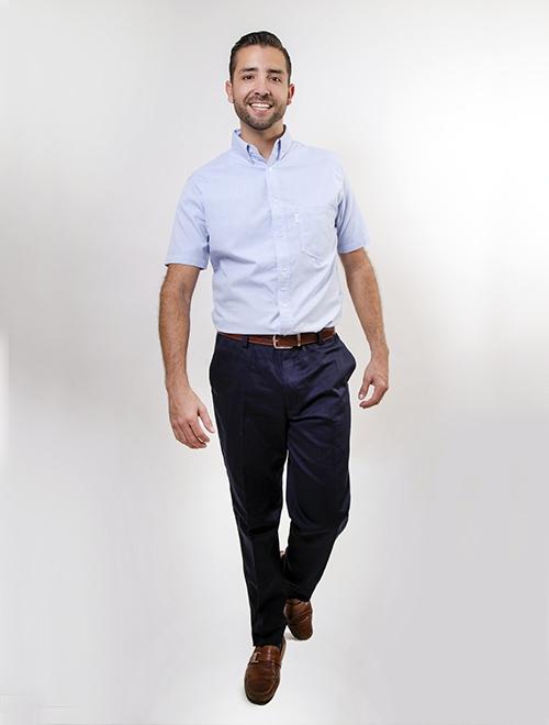 Camisa Manga Corta Oxford 1a