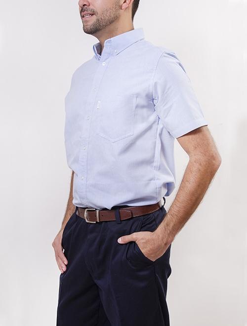 Camisa Manga Corta Oxford 1b