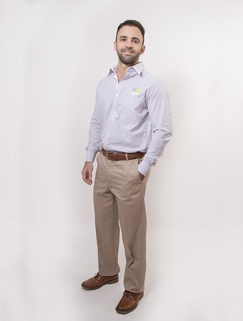 Pantalon Gabardina Hombre 1a