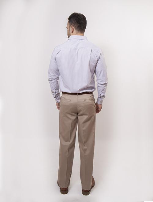 Pantalon Caballero Gabardina Conquerer Sport Moda Uniformes