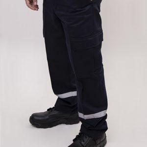Pantalón Cargo Gabardina con reflejante