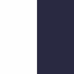 Blanco y Azul Marino