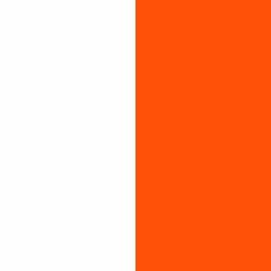 Blanco y Naranja